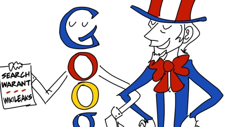 Google Draws Wikileaks' Ire for Secretly Providing Private Email Data to DOJ