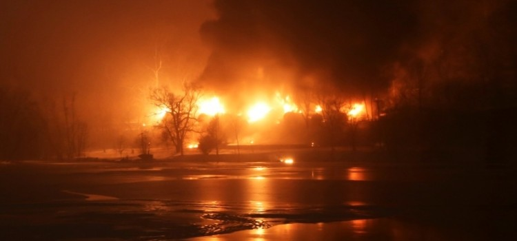 Get Used to It: DOT Predicts Oil Train Derailments Will Be Commonplace Over Next Two Decades