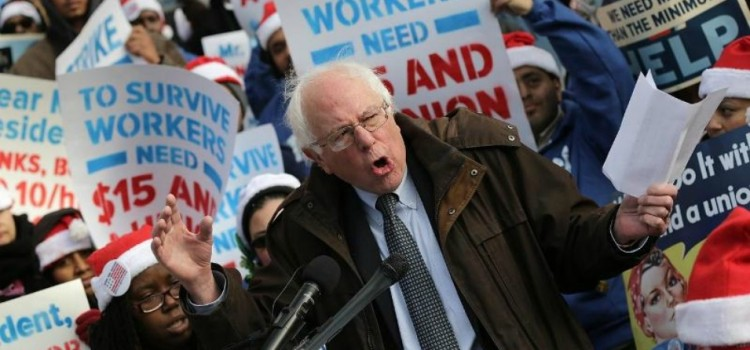 Bernie Sanders Is Running and Says, 'People Should Not Underestimate Me'