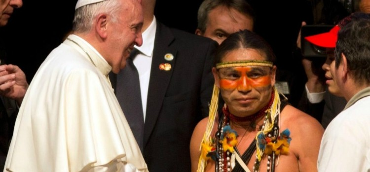 Pope Blasts 'Unbridled Capitalism'; Begs Forgiveness from Native Americans